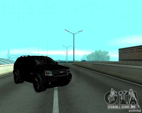 Chevrolet Tahoe BLACK EDITION para GTA San Andreas vista direita