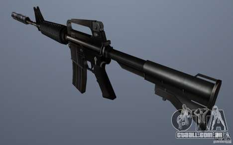 CS Guns Beta 1B para GTA San Andreas por diante tela