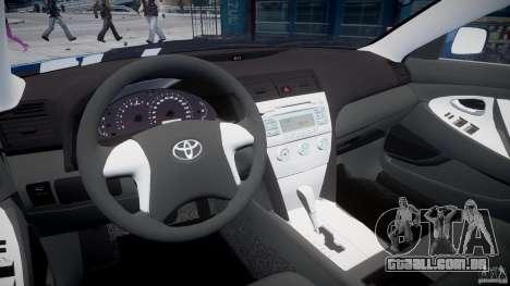 Toyota Camry 2007 (XV40) v1.0 para GTA 4 vista direita