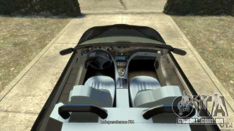 Maserati Spyder Cambiocorsa para GTA 4 vista direita
