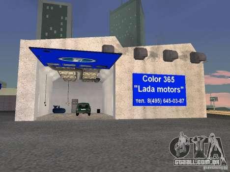Auto VAZ para GTA San Andreas quinto tela