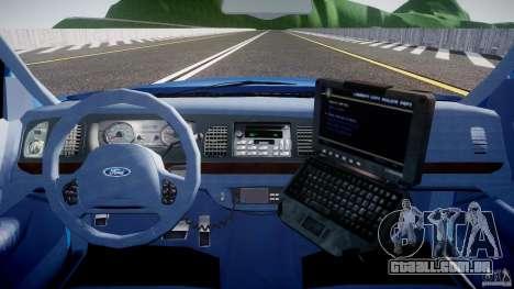 Ford Crown Victoria 2003 Noose v2.1 para GTA 4 vista superior
