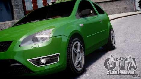 Ford Focus ST para GTA 4 interior