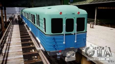 Metro russo para GTA 4 por diante tela