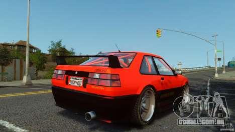 Futo GTRS para GTA 4 esquerda vista