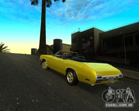 EON Stallion GT-A para GTA San Andreas vista direita