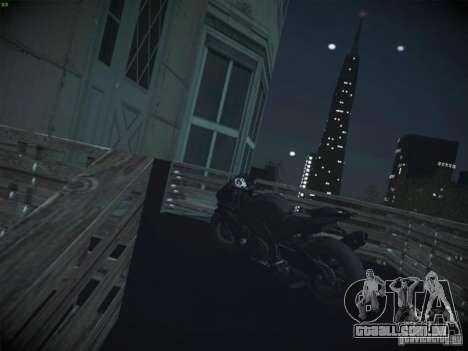 Aprilia RSV4 para GTA San Andreas vista traseira