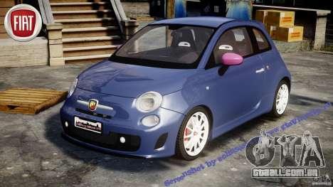 Fiat 500 Abarth SS para GTA 4