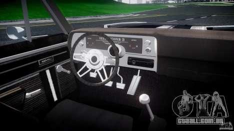 Chevrolet Nova 1969 para GTA 4 vista direita