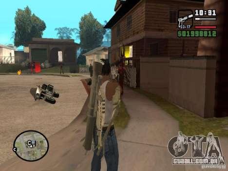 Nova vista para GTA San Andreas terceira tela