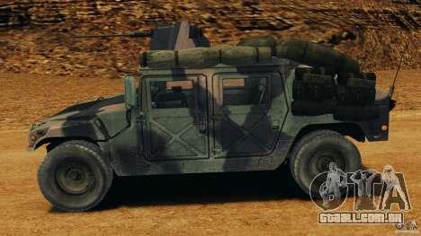 HMMWV M1114 v1.0 para GTA 4 esquerda vista