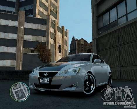 Lexus IS350 2006 v.1.0 para GTA 4