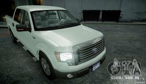Ford F150 XLT v1.3 para GTA 4 vista direita