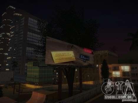 Novos cartazes em todo o estado para GTA San Andreas sétima tela