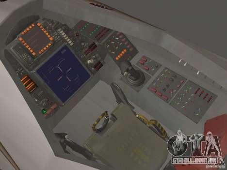 Módulo de FARSCAPE para GTA San Andreas traseira esquerda vista