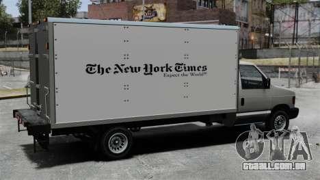 O novo anúncio para caminhão corcel para GTA 4 vista direita