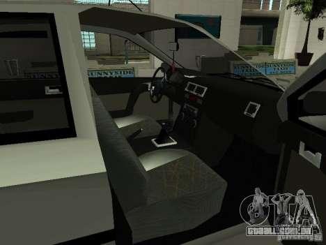 Hyundai Getz para GTA San Andreas vista traseira