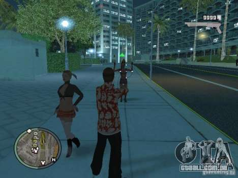 Tony Montana para GTA San Andreas quinto tela