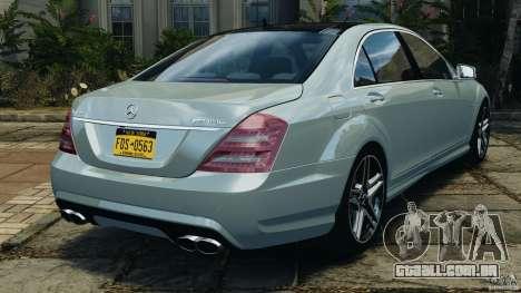 Mercedes-Benz S65 AMG 2012 v1.0 para GTA 4 vista direita