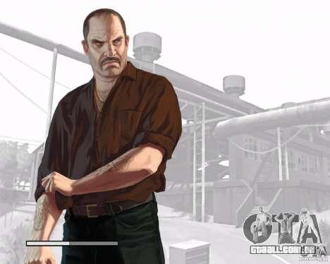 Telas de carregamento, no estilo do GTA IV para GTA San Andreas quinto tela