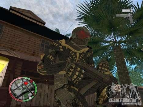 Coleção de armas de Crysis 2 para GTA San Andreas quinto tela