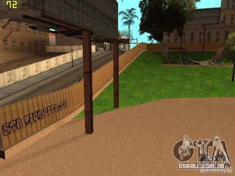 New SkatePark v2 para GTA San Andreas sétima tela