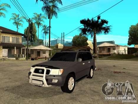 Toyota Land Cruiser 100 para GTA San Andreas