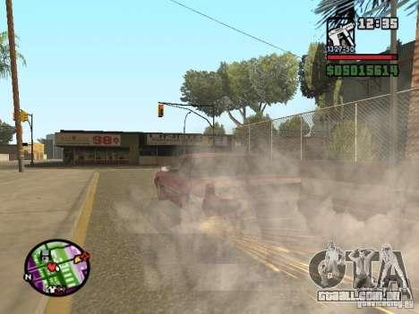 Overdose effects V1.3 para GTA San Andreas nono tela
