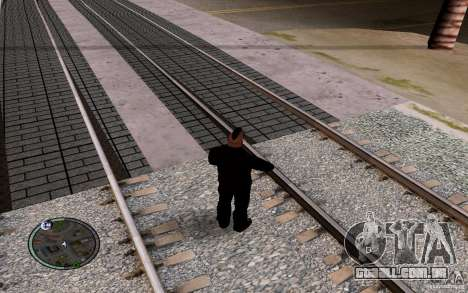 Rails russos para GTA San Andreas oitavo tela