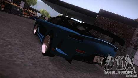 Mazda RX-7 Veilside v3 para GTA San Andreas esquerda vista