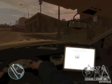 Ford Crown Victoria polícia para GTA 4 vista direita