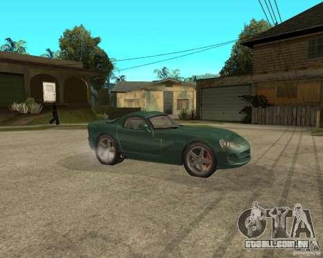 Dodge Viper Srt 10 para GTA San Andreas vista direita