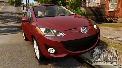 Mazda 2 2011 para GTA 4