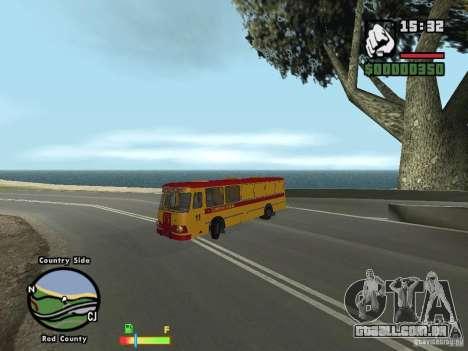 Assistência técnica LIAZ 677 HBI para GTA San Andreas esquerda vista
