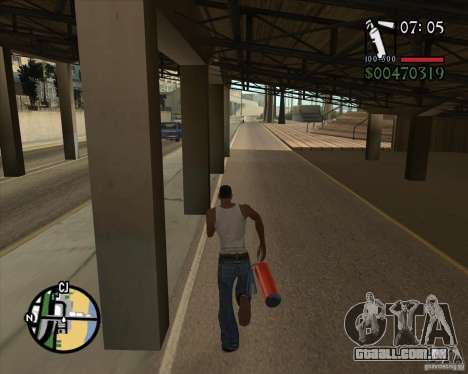 New Fonts para GTA San Andreas segunda tela