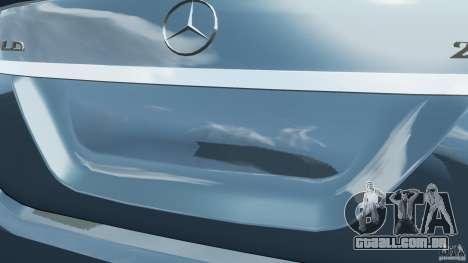Mercedes-Benz S W221 Wald Black Bison Edition para GTA 4 motor