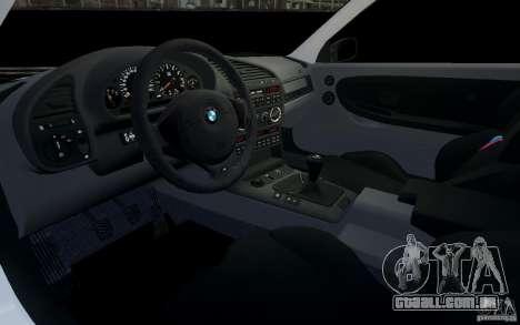 BMW M3 E36 v1.0 para GTA 4 vista lateral