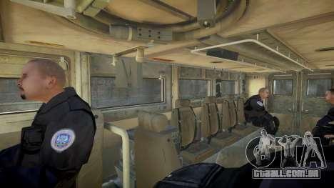 HEMTT Phalanx Oshkosh para GTA 4 vista direita