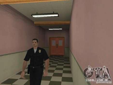 Saída de emergência do LSPD para GTA San Andreas segunda tela