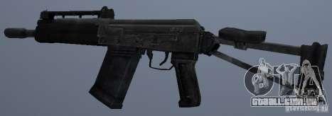 Saiga-12s para GTA San Andreas segunda tela