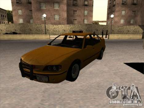 Táxi de GTA IV para GTA San Andreas