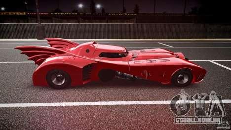Batmobile Final para GTA 4 vista interior
