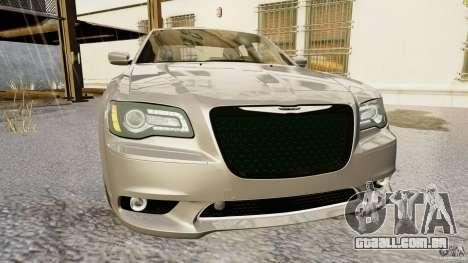 Chrysler 300 SRT8 2012 para GTA 4 traseira esquerda vista