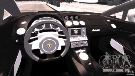 Lamborghini Gallardo LP 560-4 DUB Style para GTA 4 vista direita