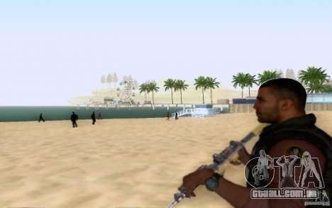 Salazar na civil para GTA San Andreas por diante tela