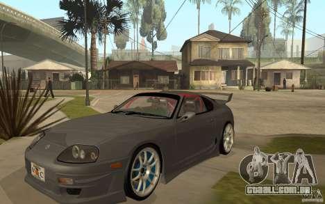 Toyota Supra Rz The Bloody Pearl 1998 para GTA San Andreas