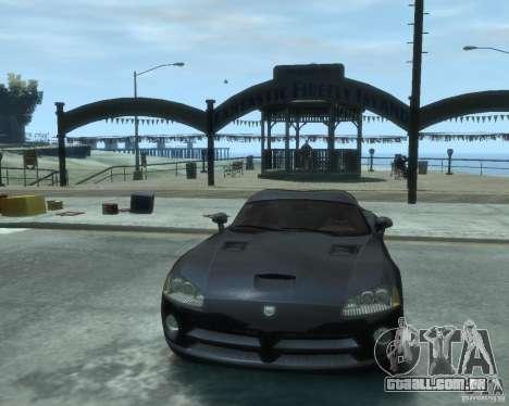 Dodge Viper srt-10 Coupe para GTA 4 vista de volta