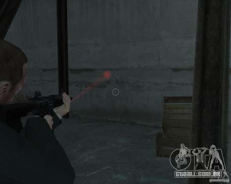 Flashlight for Weapons v 2.0 para GTA 4 segundo screenshot