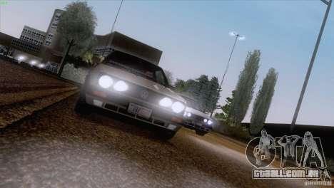 Volkswagen Golf Mk2 GTi para GTA San Andreas traseira esquerda vista