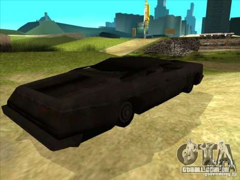 Real Ghostcar para GTA San Andreas vista direita